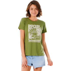 Rip Curl North Shorte Standard Tee Women, olive